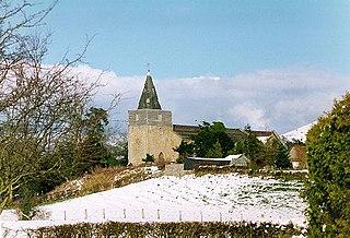 St Nicholas Church, Church Stoke Church