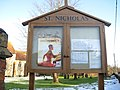 St Nicholas church notice board - geograph.org.uk - 1635840.jpg