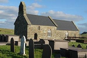 St Rhwydrus's Church, Llanrhwydrus - Image: St Rhwydrus Church