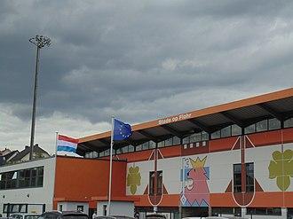 Op Flohr Stadion - Image: Stade Op Flohr 3