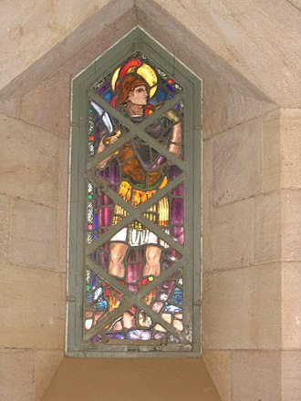 Mabel Esplin - Image: Stained Glass in the Republican Palace Museum, Khartoum, Sudan Saint Alban