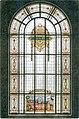 Stained glass window in the University of Debrecen depicting the University of Utrecht.jpg