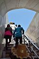 Stairs - Terrace to Mausoleum Level - Taj Mahal - Agra 2014-05-14 3838.JPG