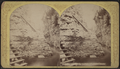Stairs of Long Gallery, Ausable (Au Sable) Chasm, by Stoddard, Seneca Ray, 1844-1917 , 1844-1917.png