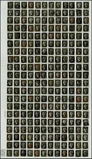Penny Black printing plates