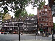 Staple Inn, London, UK - 20050821