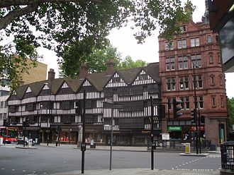 Inns of Chancery - Staple Inn, the only Inn of Chancery building to survive largely intact