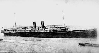 SS Egypt - Image: State Lib Qld 1 141467 Egypt (ship)