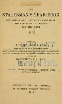 Statesman's Year-Book 1913.djvu