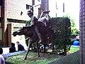 Statue at 96 George Street, Croydon. - geograph.org.uk - 21863.jpg
