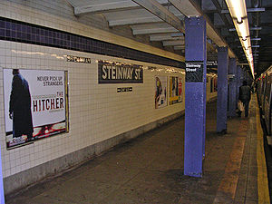 William Steinway - Steinway Street Station