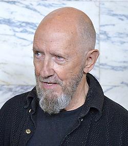 Sten Johan Hedman under Det Kgl. Svenske Teaters efterårssamling 2014.