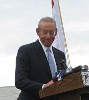 Stephen M. Ross - Ross at an event at Miami Beach Senior High