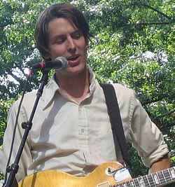 Stephen Malkmus dal vivo a New York, 2005