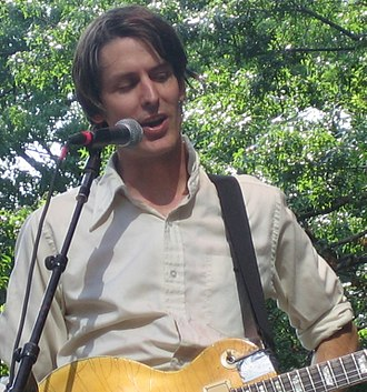 Stephen Malkmus - Stephen Malkmus on 4 July 2005 at the River To River Festival show in Battery Park in New York City