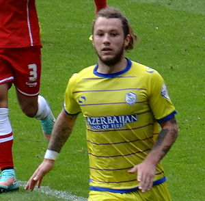 Stevie May - May playing for Sheffield Wednesday in 2014