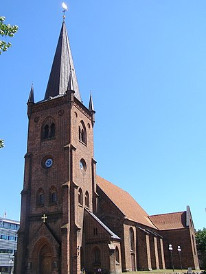 Haraldskær Woman - St. Nicolai Church in Vejle, Denmark