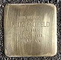 Stolperstein Dortmunder Str 3 (Moabi) Fritz Gottfeld.jpg