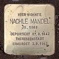 Stolperstein Hektorstr 16 (Halsee) Nachle Mandel.jpg