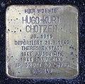 Stolperstein Johannisberger Str 3 (Wilmd) Hugo-Kurt Chotzen.jpg