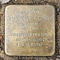 Stolperstein Landshuter Str 17 (Schön) Hannchen Cohn.jpg
