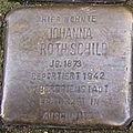 Stolperstein Mittelweg 8-10 Johanna Rothschild.jpg