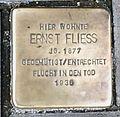 Stolperstein Otto-von-Guericke-Str 18 (Magdeburg) Ernst Fliess.jpg