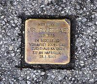 Stolperstein Salzburg, Verlegestellle Franz-Josef-Kai 1.jpg
