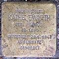 Stolperstein Stierstr 19 (Fried) Käthe Ewarth.jpg
