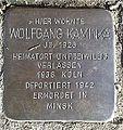 Stolperstein Windeck Rosbach Rathausstraße Wolfgang Kaminka.jpg