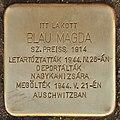 Stolperstein für Blau Magda (Lendava).jpg