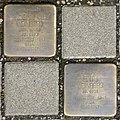 Stolpersteine Köln, Edith und Henriette Cilly Weinberg (Rothgerberbach 6).jpg