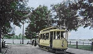 Konradshöhe - Image: Straßenbahn Tegelort