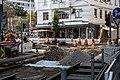 Straßenbahn Wien Gleisbett-Erneuerung Lerchenfelder Straße Kaiserstraße 2020-07-17 01.jpg