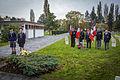 Strasbourg nécropole nationale de Cronenbourg cérémonie 1er novembre 2013 09.jpg