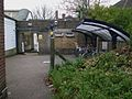 Strawberry Hill stn rear entrance.JPG