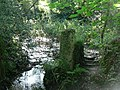 Stream and stile in Kerthen Wood - geograph.org.uk - 231734.jpg
