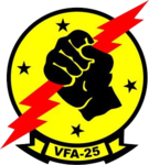 Strike Fighter Squadron 25 (US Navy) insignia 2015.png