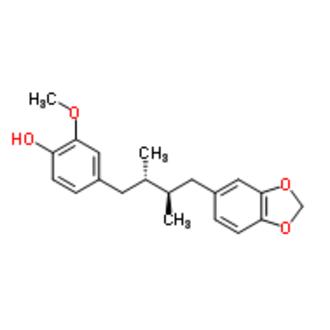 Macelignan - Image: Structural formula of macelignan