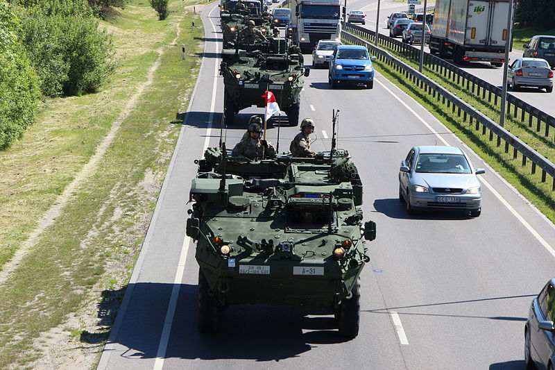 28th Infantry Division, Pennsylvania Army National Guard arrive in Vilnius, Lithuania June 8 to participate in Saber Strike 2015 NATO operation Sabre Strike
