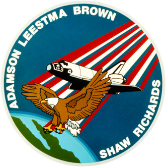 James C. Adamson - Image: Sts 28 patch