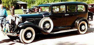 Studebaker President - 1931 Studebaker President Series 90X Eight 7-Passenger Sedan