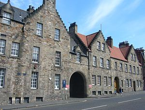 The Pleasance (street) - Student Union buildings