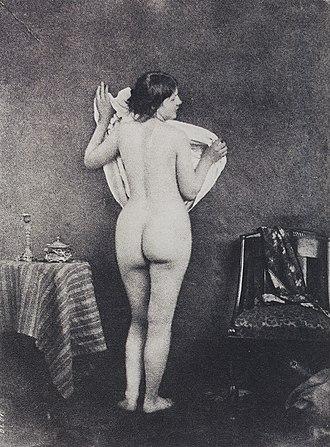 Julien Vallou de Villeneuve - Image: Study naked Villeneuve 166