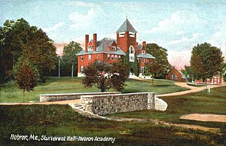 Sturtevant Hall building of the Hebron Academy