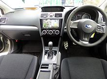 Interior Subaru Demonstrated