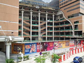 Sunway Putra Mall - The Mall under renovation, September 2013