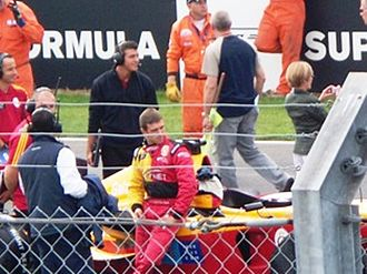 Galatasaray S.K. (Superleague Formula team) - Image: Super League Formula Donington Scuderia Playteam Galatasaray 2008 5
