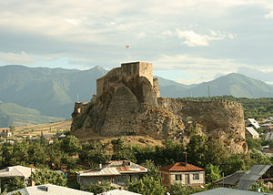 Military history of Georgia - Georgian(Colchis) fortress of Surami, built in the 2nd-3rd centuries, heavily fortified in the 12th century