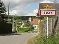Suzy (Aisne) city limit sign.JPG